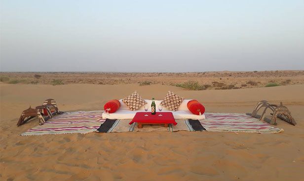 best desert camp in jaisalmer with tariff