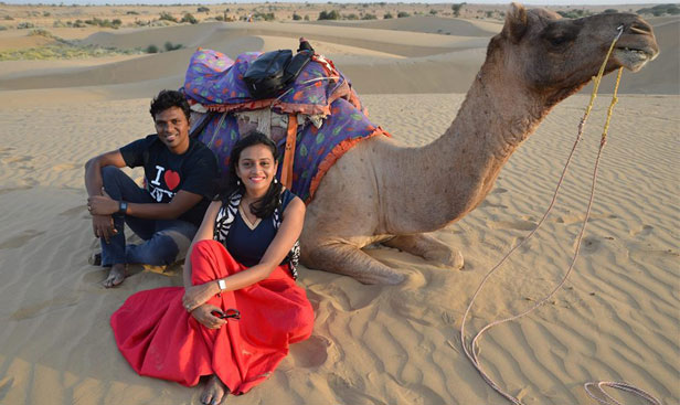 jaisalmer desert safari camp tent booking